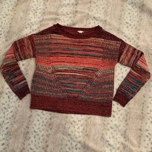 Aeropostale juniors sparkle sweater